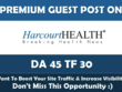 Write & Publish Health Guest Post on Harcourthealth.com