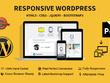 Design Wordpress website Mobile friendly