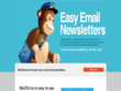 Create Responsive Email templates, Editable HTML Newsletter.