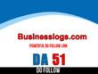 Publish guest post on Businesslogs – Businesslogs.com –  DA 51