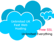 1 Year Fast UK SSD Cloud Unlimited Web Hosting with SSL