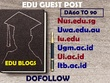 Publish Post on EDU  - DA60 TO 90 - Guest Post Dofollow(ANY ONE)