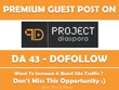 Publish Guest Post on Projectdiaspora.org - DA 43