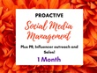 Proactive Social Media Management!