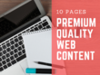 Write 10 PAGES of Compelling Web Content