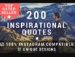 Design 200 Inspirational Quotes For Instagram