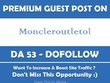 Publish Guest Post on Moncleroutletol.com - DA 53 PA 58