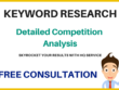 SEO Keyword Research and Competitor Analysis 2018