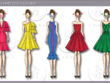 CREATE 5 STUNNING FASHION DESIGN OUTFITS