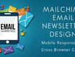 Design responsive HTML email template campaign , HTML newsletter