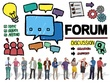 Create an online forum website