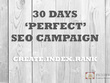 Skyrocket your website rankings with our 30 days SUPREME SEO PAC
