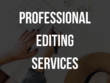 Professionally edit your content (2,000 words)