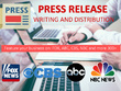 Write Press Release Distribution on ABC, NBC, FOX, CBS & 400+