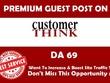 Premium Guest Post on Customerthink.com DA- 69 Dofollow link