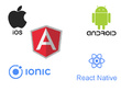 Develop android and ios native/hybrid apps
