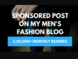 Guest Post On My Mens Fashion Blog LIFESTYLE BY PS