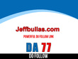 Publish guest post on jeffbullas – jeffbullas.com – DA 77