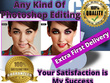 Professionally edit retouch any photo to the highest standard
