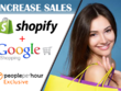 Increase your Shopify sales with Google Shopping ads