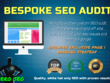SEO page 1 Google Ranking -  Bespoke SEO Analysis & Action Plan