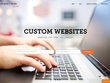 Design and develop web page in laravel framework