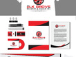 Design a logo,stationary ,business card envelope  .