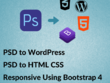Convert PSD To Wordpress Html5, Css3 Responsive by Bootstrap 4
