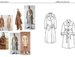 Detailed technical packs of 8-10 looks based on initial sketchs