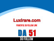 Publish guest post on Luxirare – Luxirare.com – DA 51