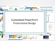 Design 25 PowerPoint presentation slides with revisions