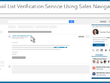 Email List Verification Using Sales Navigator API, Chunk Of 10K