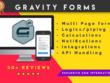 Create contact form or gravity form for wordpress website