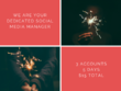 Be professional social media manager for 5 days - 3 platforms