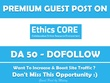 Write & Publish Guest Post on NationalEthicsCenter.org - DA 50