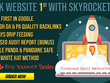 Skyrocket Website 1 In Google With White HAT SEO