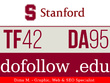 Publish a guest post on CollegePuzzle.Stanford.edu - DA95, TF42