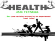 Write a health and fitness article
