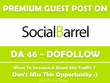Publish Guest Post on Socialbarrel.com - DA 46