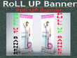 Outstanding design Roll up Banner in 24H