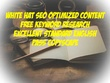 Write 3000 Words SEO Optimized Web Content