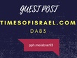 Guest post on timesofisrael.com DA83 authority news site