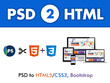 Convert Your PSD to HTML5/CSS3 using Twitter Bootstrap