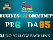 Publish a Guest Post on Business2Community.com