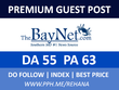 Publish a Guest post on thebaynet - thebaynet.com, DA55