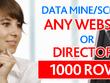 Data mine/scrape any website or directory