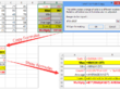 Create excel spreadsheet with formula or macro