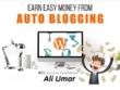 Make Money with Wordpress Autoblogging Website