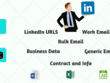 Provide 100 b2b leads for business very fast.