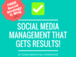 1 Mnth Social Content & Management + FREE Social Strategy & Blog